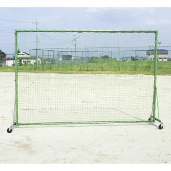 固定式 防球フェンス(車付) B-736 [ラッピング不可][代引不可][同梱不可]
