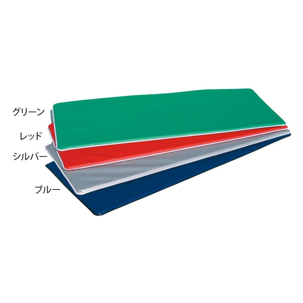 エアロビクスマット(ハードタイプ) 60×150×2cm F-57 レッド [ラッピング不可][代引不可][同梱不可]