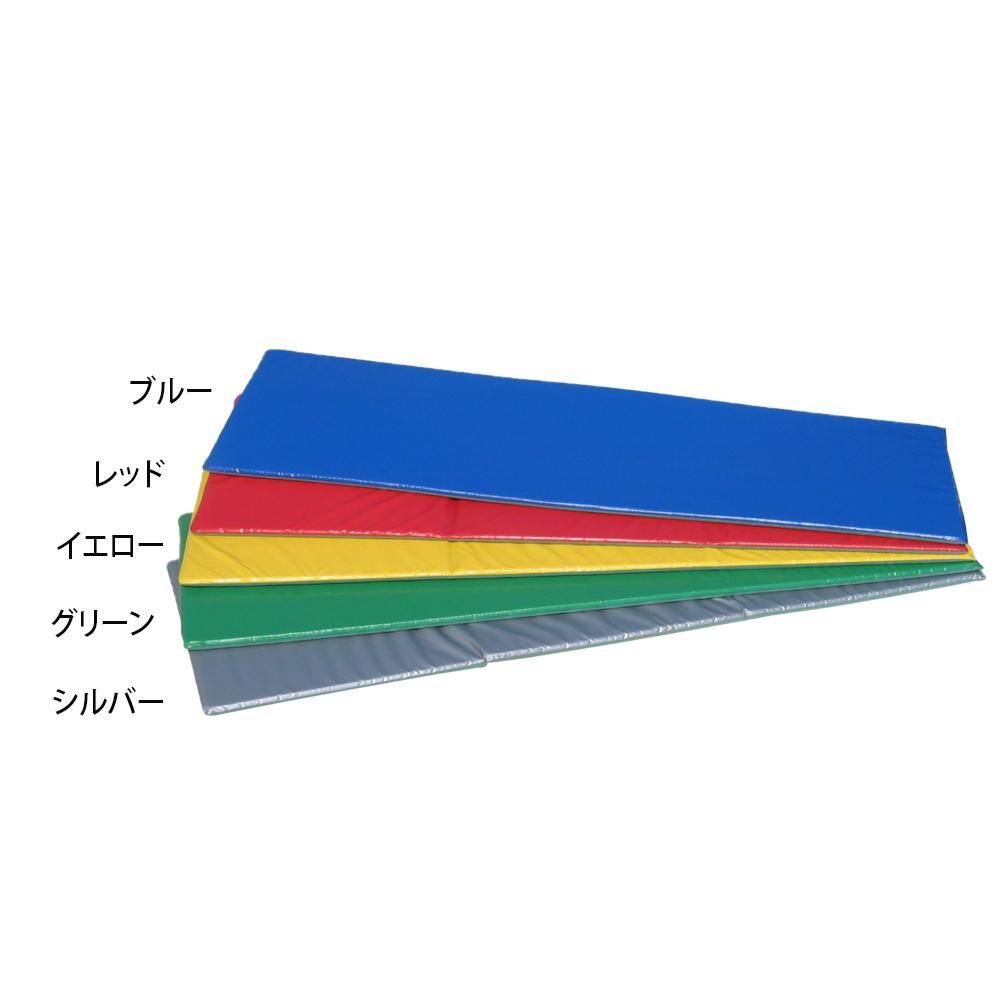 ノンスリップフィットネスマット 60×180×2cm F-47 レッド [ラッピング不可][代引不可][同梱不可]