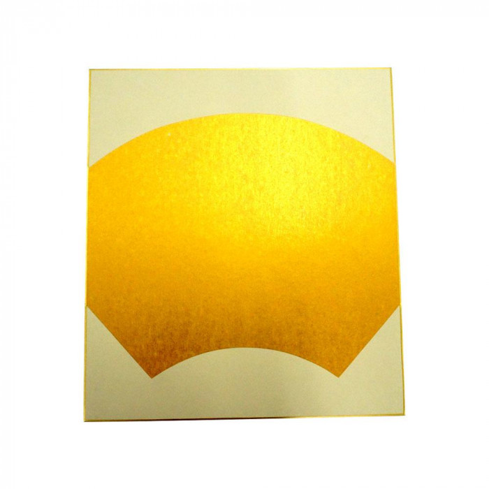 大色紙 絵馬型 内金潜紙 特上 50枚 0055
