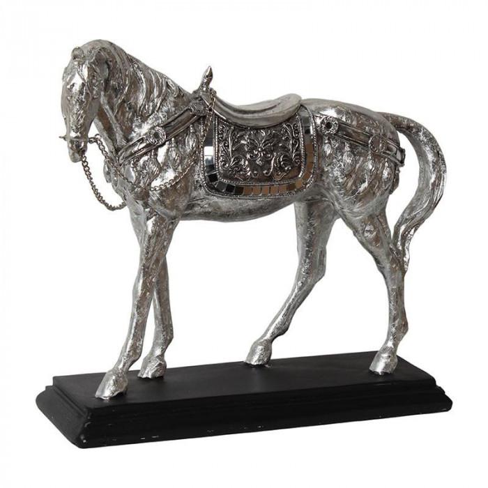 アニマルオブジェ ホース 馬 シルバー NY-8500 [ラッピング不可][代引不可][同梱不可]