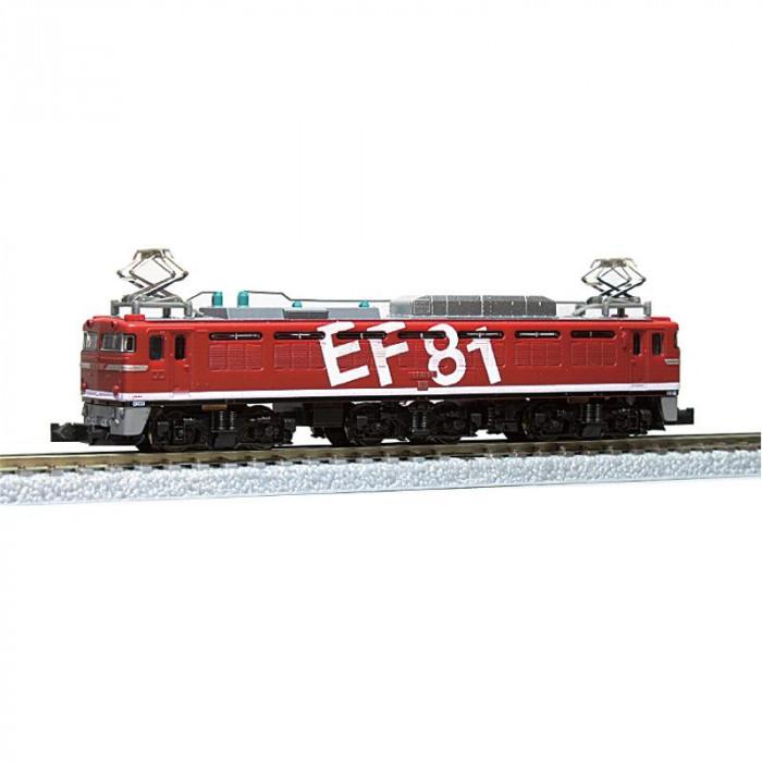 EF81形電気機関車レインボー塗装95号機 T015-3