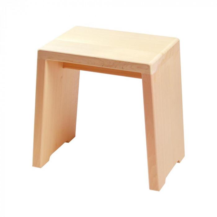 ヤマコー 木曽檜風呂椅子 台形 80639