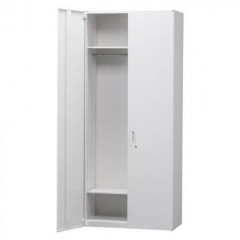 豊國工業 壁面収納庫深型ワードローブ ホワイト HOS-HRWN BN-90色(ホワイト) [ラッピング不可][代引不可][同梱不可]