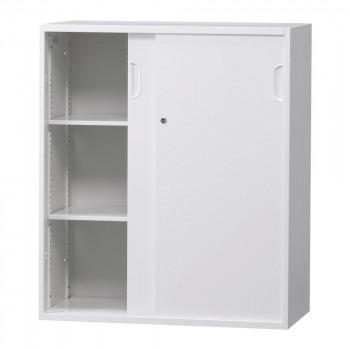 豊國工業 壁面収納庫深型引違い(下置) ホワイト HOS-HKSDN BN-90色(ホワイト) [ラッピング不可][代引不可][同梱不可]