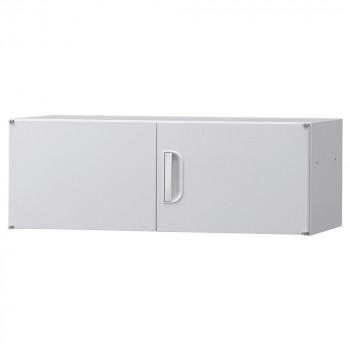 豊國工業 壁面収納庫深型上置き棚H320 ホワイト HOS-U1 BN-90色(ホワイト) [ラッピング不可][代引不可][同梱不可]
