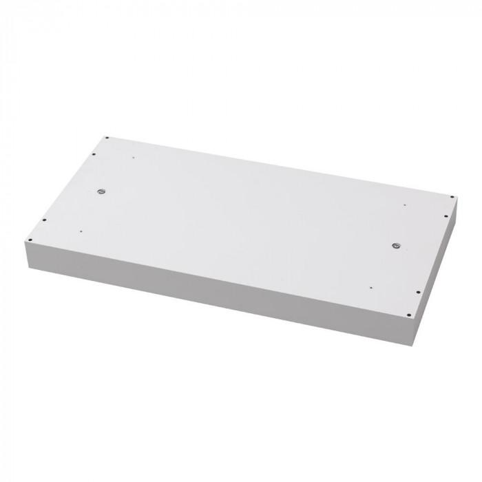豊國工業 壁面収納庫深型天井スペーサー ホワイト HOS-K BN-90色(ホワイト) [ラッピング不可][代引不可][同梱不可]