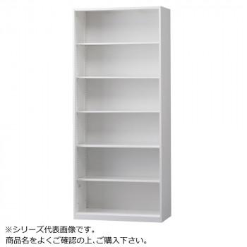 豊國工業 壁面収納庫浅型オープンH2100 ホワイト HOS-O2S BN-90色(ホワイト) [ラッピング不可][代引不可][同梱不可]