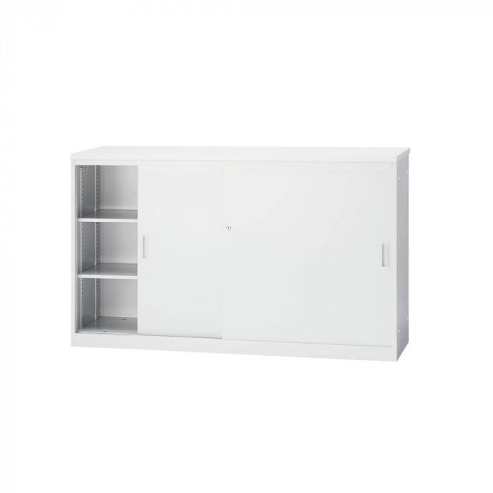豊國工業 ハイカウンター引戸型(本体)W1500 CT-H15S CN-85色(ホワイトグレー) [ラッピング不可][代引不可][同梱不可]