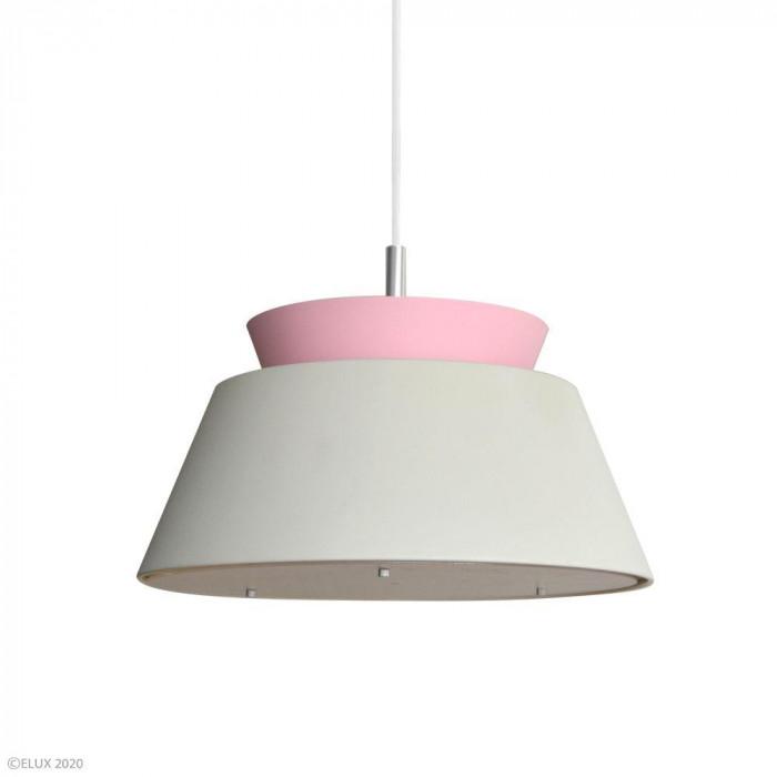 ELUX(エルックス) LARSEN(ラーセン) 3灯ペンダントライト グレー×ピンク LC10928-GYPK