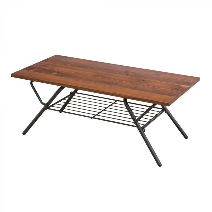 折りたたみテーブル SIN-200DBR ダークブラウン [ラッピング不可][代引不可][同梱不可]