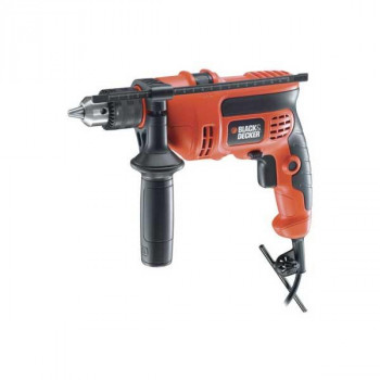 BLACK & DECKER 710W 13mm 振動ドリル KR704REK