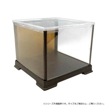 金張プラスチック角型ケース 27×27×64cm 4個セット [ラッピング不可][代引不可][同梱不可]