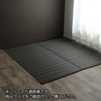 洗える PPカーペット 『バルカン』 本間6畳(約286×382cm) ブラウン 2126416 [ラッピング不可][代引不可][同梱不可]