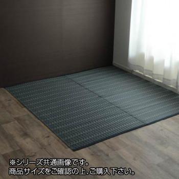 洗える PPカーペット 『バルカン』 本間8畳(約382×382cm) ネイビー 2126518 [ラッピング不可][代引不可][同梱不可]