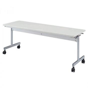 オフィス家具 スタックテーブル 180×60×70cm ネオホワイト KV1860-NW [ラッピング不可][代引不可][同梱不可]