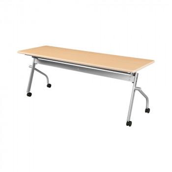 オフィス家具 平行スタックテーブル 180×60×70cm ナチュラル KSP1860A-NW [ラッピング不可][代引不可][同梱不可]