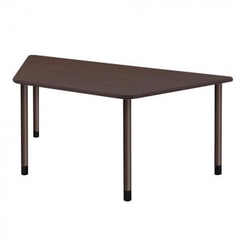 オフィス・施設向け家具 スタンダードテーブル 4本固定脚 ダークブラウン UFT-4KD9018-DB-L1 [ラッピング不可][代引不可][同梱不可]