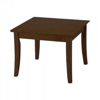 オフィス・施設向け家具 ローテーブル 60×60×45cm ダークブラウン UFT-RW6060-DBR [ラッピング不可][代引不可][同梱不可]