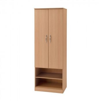 オフィス・施設向け家具 ワードローブ ナチュラル UFRW-NA [ラッピング不可][代引不可][同梱不可]