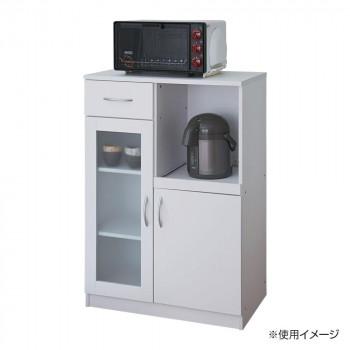 ビアンコ キッチンキャビネット W600タイプ SK9765-WH [ラッピング不可][代引不可][同梱不可]