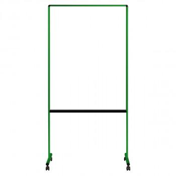 馬印 透明ボード(片面)カラー枠 グリーン W939×D557×H1850 UDTP34N-G [ラッピング不可][代引不可][同梱不可]