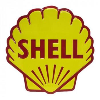 ダイカット エンボスメタルサイン SHELL BIG