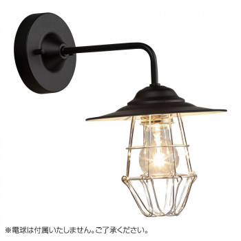 ブラケットライト 〆付けガードアルミP1セード・BK型 BK (電球なし) GLF-3487BKX GLF-3487BKX [ラッピング不可][代引不可][同梱不可]