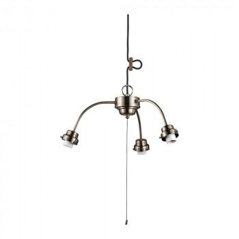 3灯用ビス止めアームCP型吊具 真鍮ブロンズ鍍金 GLF-0271BR GLF-0271BR [ラッピング不可][代引不可][同梱不可]