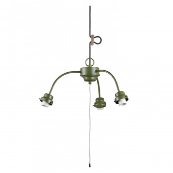 3灯用ビス止めアームCP型吊具 緑塗装 GLF-0271GR GLF-0271GR [ラッピング不可][代引不可][同梱不可]