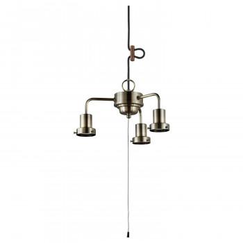 3灯用ローカンビス止め吊具 真鍮ブロンズ鍍金 GLF-0273BR GLF-0273BR [ラッピング不可][代引不可][同梱不可]