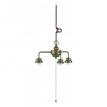 3灯用ビス止めCP型吊具・木製飾り付 緑塗装 GLF-0281GR GLF-0281GR [ラッピング不可][代引不可][同梱不可]