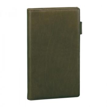 レイメイ藤井 ダ・ヴィンチグランデ オリーブレザー システム手帳 聖書サイズスリム グリーン JDB3028M
