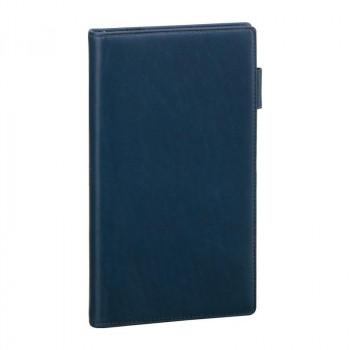 レイメイ藤井 ダ・ヴィンチグランデ オリーブレザー システム手帳 聖書サイズスリム ネイビー JDB3028K