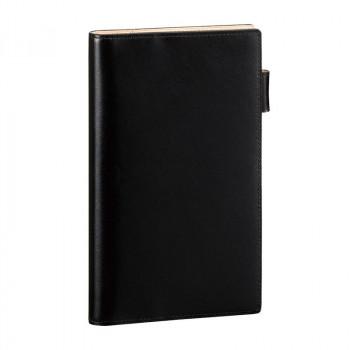 レイメイ藤井 ダ・ヴィンチグランデ ペリンガーカーフ システム手帳 聖書サイズ ブラック JDB3019B