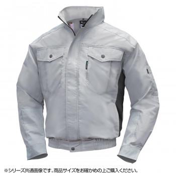 NA-1111 Nクールウェア (服 M) シルバー/チャコール チタン エリポケ 8211835