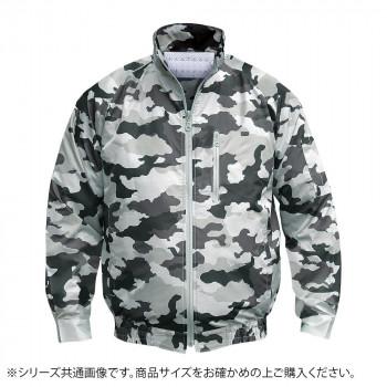 NA-102 空調服 (服 M) 迷彩グレー チタン タチエリ 8208861