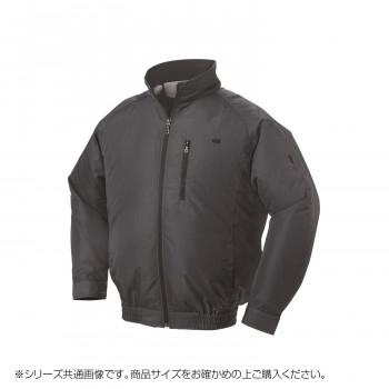 NA-301B 空調服 充黒セット M チャコールグレー ポリ タチエリ 8210038