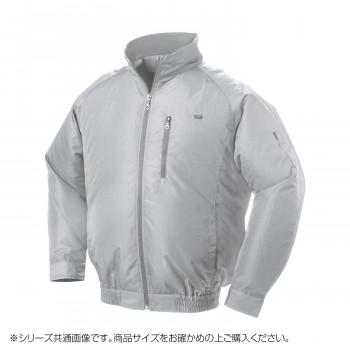 NA-301C 空調服 充白セット L シルバー ポリ タチエリ 8119111