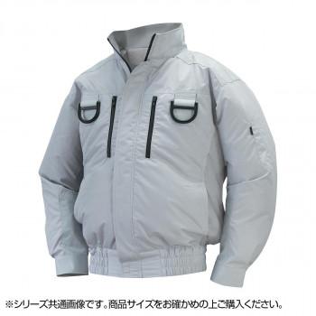 NA-113 空調服フルハーネス (服 2L) シルバー チタン タチエリ 8209418