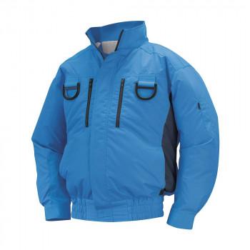 NA-113 空調服フルハーネス (服 3L) ブルー/チャコール チタン タチエリ 8209437
