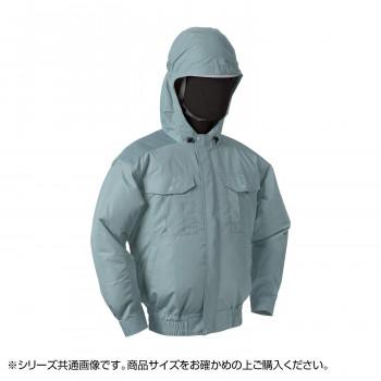 NB-101C 空調服 充白セット L モスグリーン チタン フード 8119151