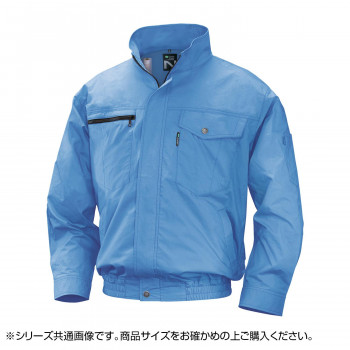 NA-2011 Nクールウェア (服 3L) ライトブルー 綿 タチエリ 8211887