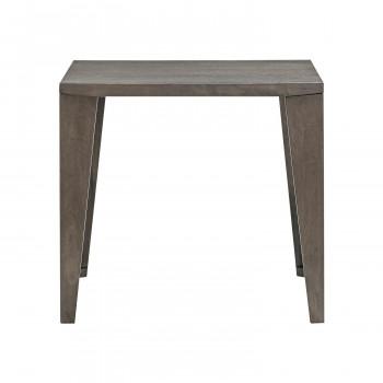 HOMEDAY ダイニングテーブル WGY(ウッディグレー) DT-03-80 [ラッピング不可][代引不可][同梱不可]