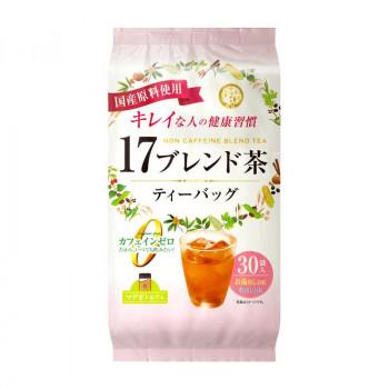 宇治森徳 17ブレンド茶 ティーバッグ (6g×30P)×20袋 [ラッピング不可][代引不可][同梱不可]