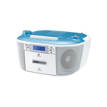 コイズミ CDステレオラジカセ ブルー SAD-4935/A 198433-121 [ラッピング不可][代引不可][同梱不可]