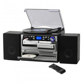 木目調 ダブルカセット・CD多機能プレーヤー TCDR-3860WE [ラッピング不可][代引不可][同梱不可]
