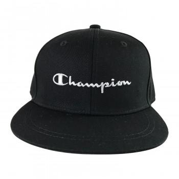 メール便発送も可能 最大2個まで Champion チャンピオン 上質 キッズ クロ 141-004A 53-55 高品質 ストレートキャップ