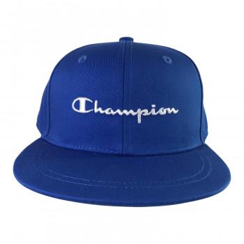 メール便発送も可能 最大2個まで 日本未発売 Champion チャンピオン キッズ ストレートキャップ ストアー 141-004A 53-55 ブルー