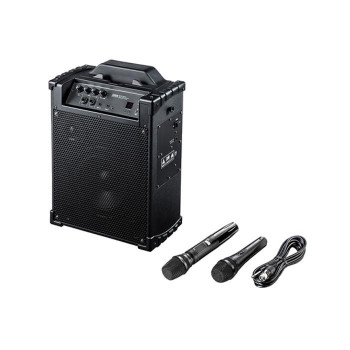 ワイヤレスマイク付き拡声器スピーカー MM-SPAMP10 [ラッピング不可][代引不可][同梱不可]